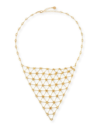 Charlotte's Web Bib Necklace