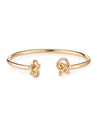 Double-Knot Cuff Bracelet