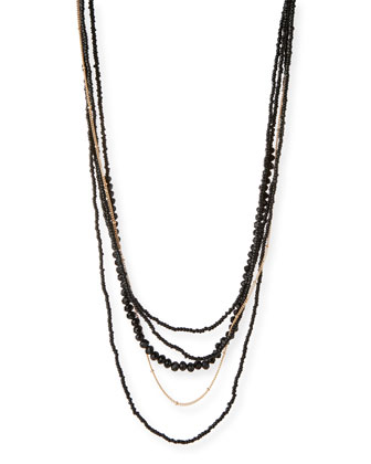 Layered Long Necklace