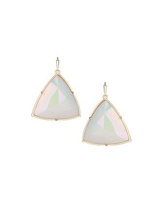 Nikki Iridescent Glass Earrings