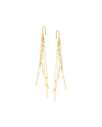 Elite Bar Shoulder-Duster Earrings