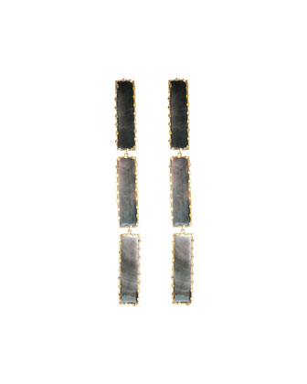 Elite Mystiq Triple-Bar Earrings