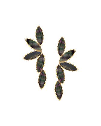 Elite Mystiq Marquis Cluster Earrings