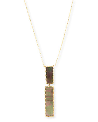 Elite Mystiq Duo Bar Necklace