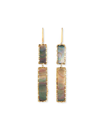 Elite Mystiq Double-Bar Earrings