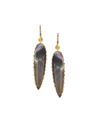 Elite Mystiq Ovate Earrings
