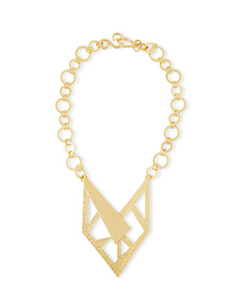 Contour 24K Gold-Plated Necklace