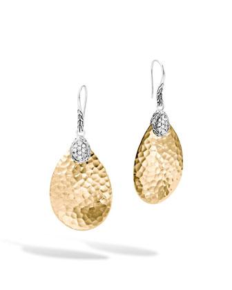 Classic Chain Small Diamond Drop Earrings
