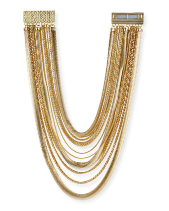Wylie Mixed Chain Necklace