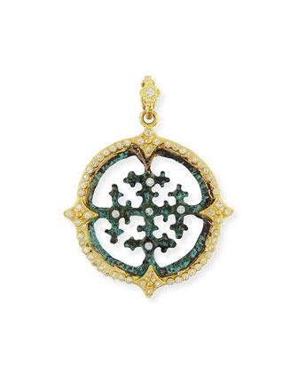 Sueño 18K Gold & White Diamond Artifact Enhancer