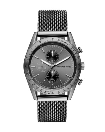 Accelerator 42mm Chronograph Watch, Gunmetal