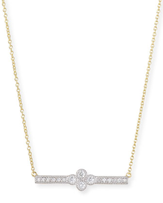 Provence Diamond Bar Station Necklace