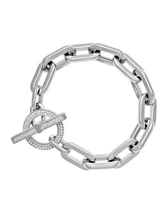 Cityscape Chain Toggle Bracelet