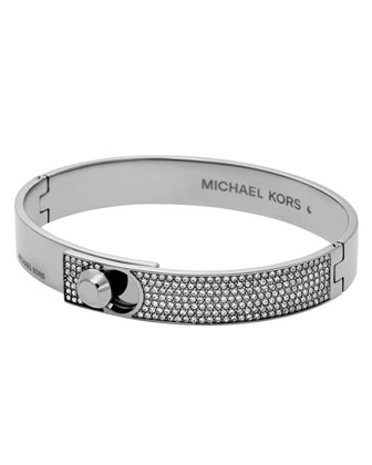 Heritage Pavé Crystal Bangle