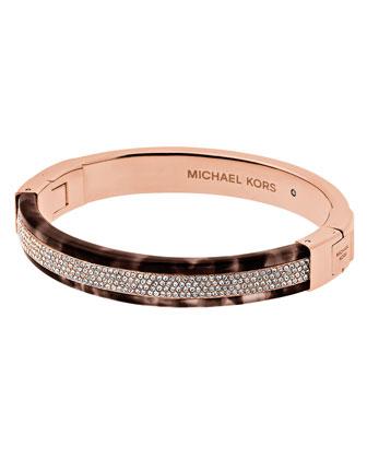 Pavé Crystal Hinge Bracelet