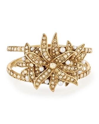 Swarovski® Pearl Flower Bracelet