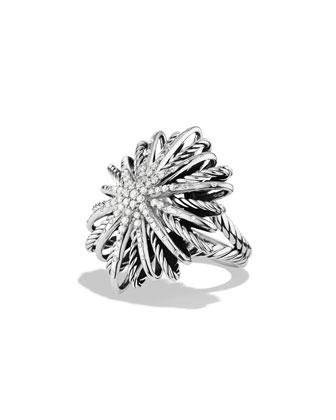 30mm Diamond Starburst Ring
