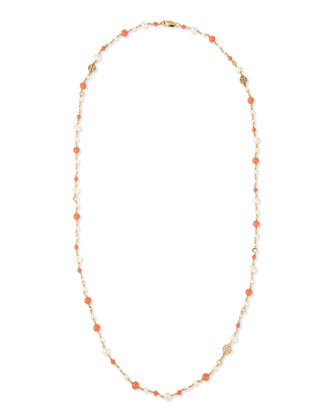 Evie Convertible Rosary Necklace, 40