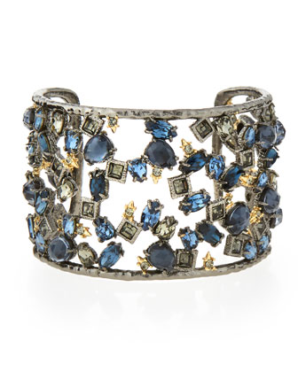 Element Confetti Spiked Cuff Bracelet