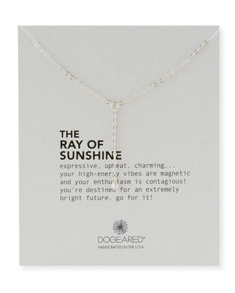 Ray of Sunshine Disco Bead Necklace