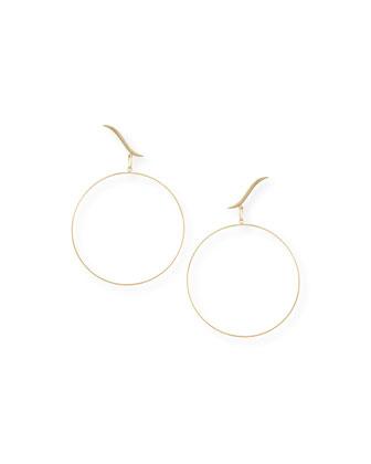 Hoop Stud Duo Earrings