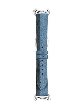 Colorblock Leather Watch Strap