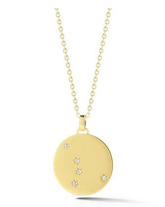 Vega Star Medallion Pendant Necklace