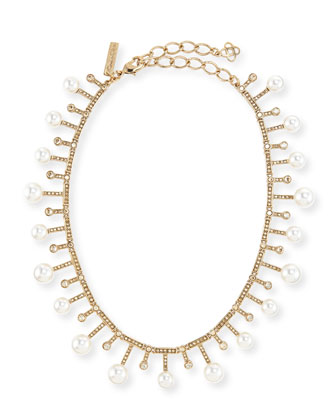 Staggered Pearly Necklace