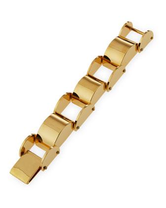 Hourglass Arched Link Bracelet