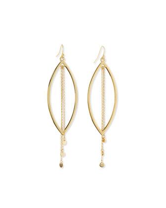Plain Luxe Drop Earrings