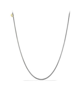 2.7mm Box Chain Necklace