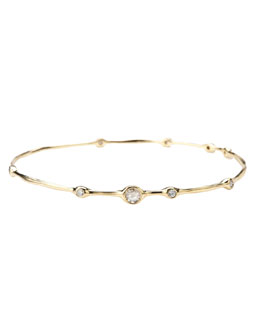 Ippolita Nine-Diamond Bangle