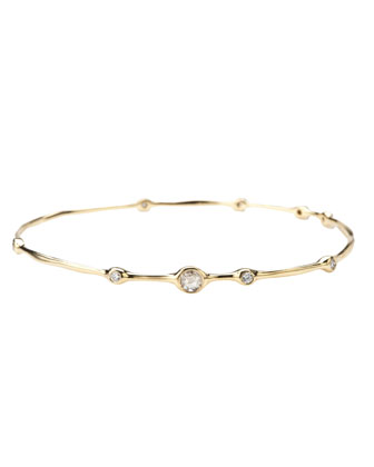 Nine-Diamond Bangle