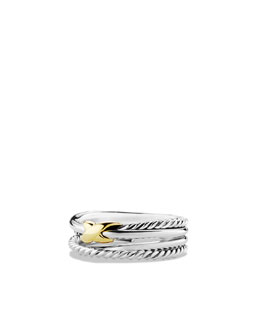 David Yurman Crossover X Ring