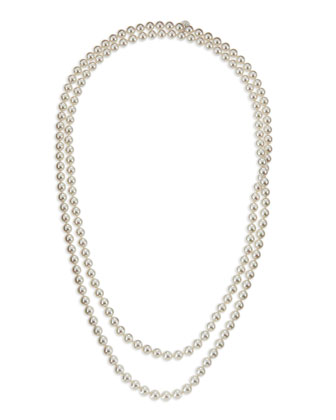 Pearl Strand Necklace, 60