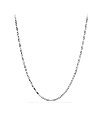 Medium Box Chain with Gold, 32