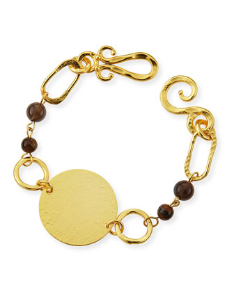 Cosmos 24k Gold-Plated Love Bracelet