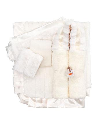 Plush Receiving Blanket, Plain