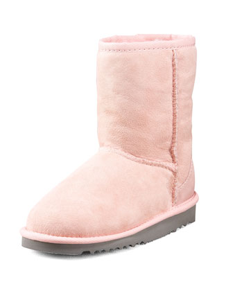Classic Short Boot, Toddler, Baby Pink