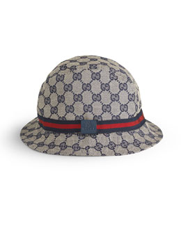 Gucci Children's GG Embossed Fedora