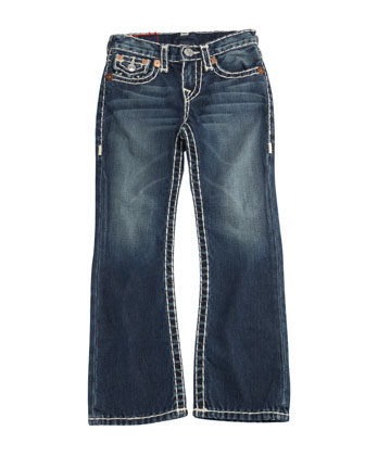 Billy Boot-Cut Jeans, Size 2-10