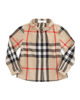 Tallori Check Button-Down Shirt