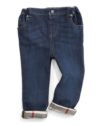 Pierre Five-Pocket Denim Trousers
