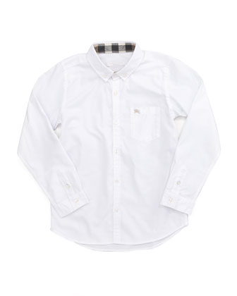 Mini Lightweight Poplin Oxford Shirt