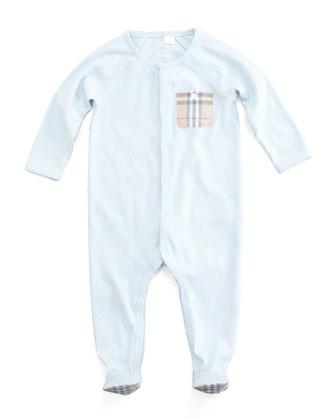 Check-Pocket Sleepsuit