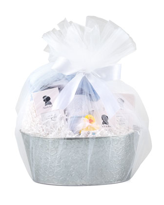 Bath Gift Set, Blue