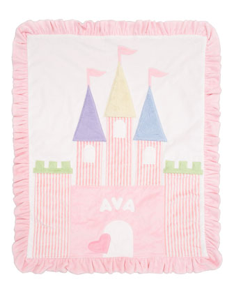Fairy Tale Castle Blanket
