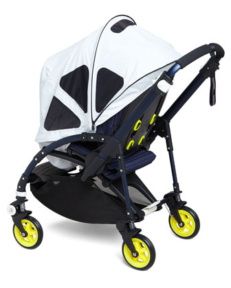 Cameleon3 Stroller Base, Tailored Fabric Set & Breezy Sun Canopy