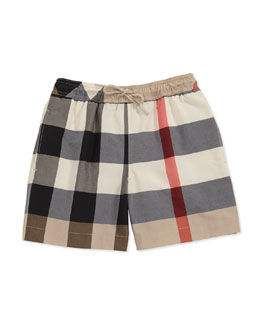 Burberry Mini Check Swim Shorts