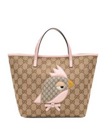 Children's Gucci Zoo Handbag, Pink
